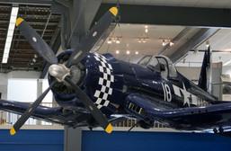 F4U-4 Bu 97142 at Naval Air Museum