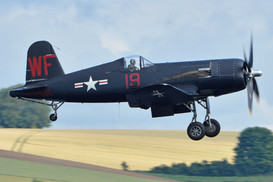 F4U-5NL Corsair - Actual US Bureau No 124541