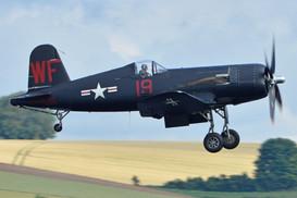 F4U-5NL Corsair - Actual US Bureau No 124541