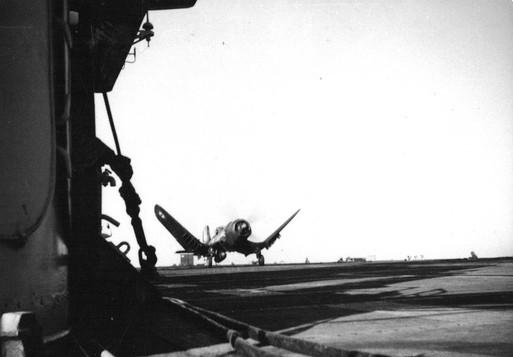F4U-7 Corsairs