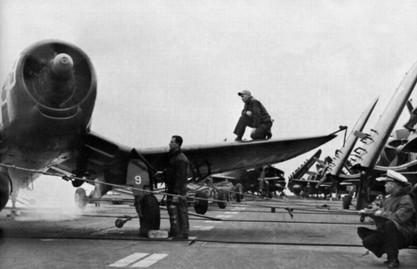 F4U-4 Corsair from Fighter Squadron VF-41 Black Aces