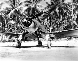 F4U-1D Corsair fighter of Marine Squadron 222.