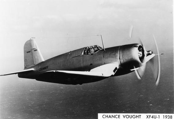 Vought XF4U-1 1443