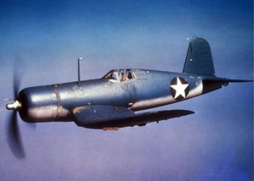 Navy Vought F4U-1 Corsair fighter