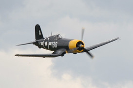 FG-1D Corsair at the 2008 'Flying Legends' air show in Duxford, UK.