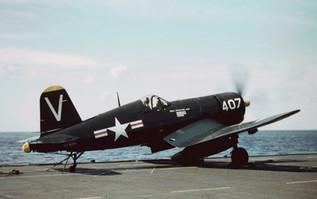 F4U-4B Corsair of Fighter Squadron 114