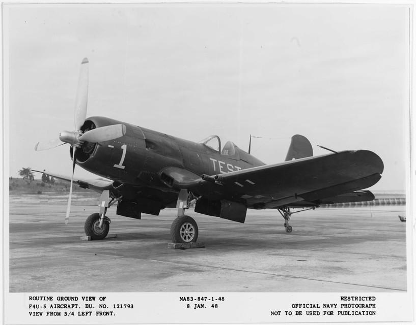 "Vought F4U-5 ""Corsair"" (Bu# 121793)"