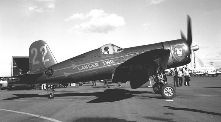 Vought Corsair F4U-4 LancerTwo68
