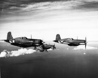 F4U-1 Vought Corsairs - Ray Wagner Collection Image