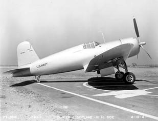 XF4U_1 Vought Corsair prototype