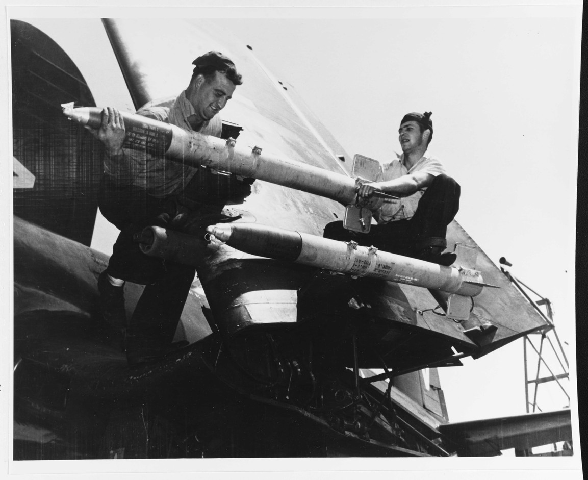 F4U-4B on the USS Philippine Sea (CV-47