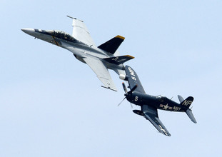 FG-1D Goodyear Corsair - Hampton, VA.