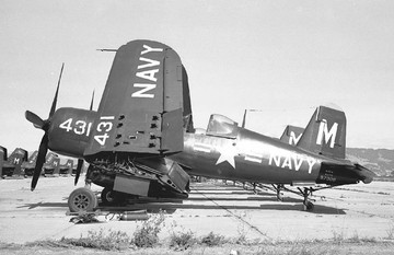 F4U-4 Corsair  BuNo 97308 assigned to VF-24