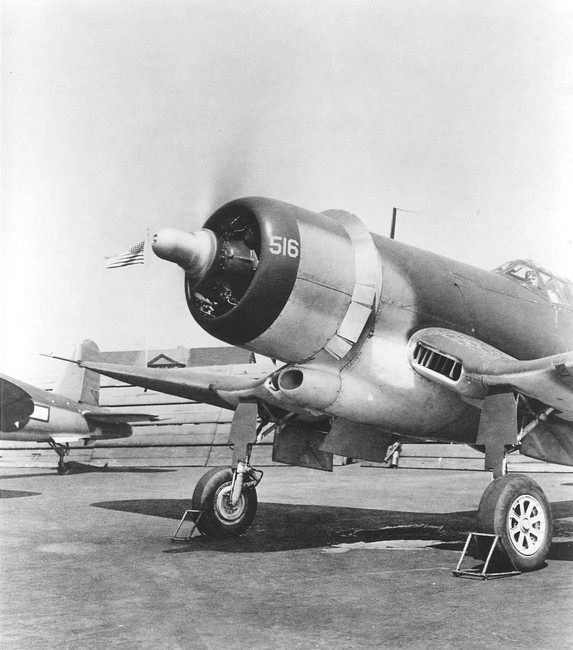 The first XF4U-3 prototype was called the XF4U-3A, and it was converted from a F4U-1A, BuNo. 17516