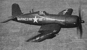 US Marine Corps AU-1 Corsair