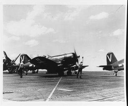 F4U-4B on the USS Philippine Sea (CV-47)
