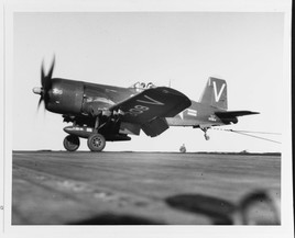 F4U-4B Corsair Fighter (Bureau # 62924)
