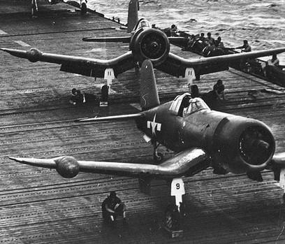 U.S. Navy Vought F4U-2