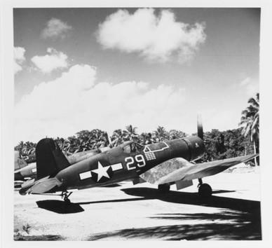 "Vought F4U-1A ""Corsair"" fighter (BuNo 55995)"