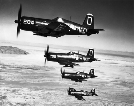 Vought F4U-4 BuNo 81624 from VF-783