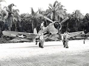 F4U-1A Corsair of Marine Squadron VMF-216