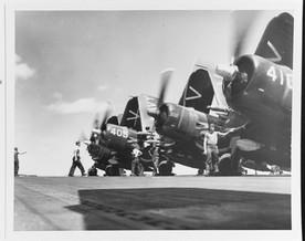 Vought F4U-4B Corsair Fighters