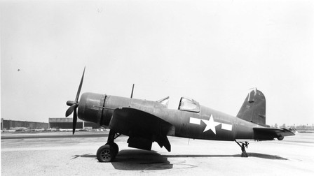 F4U-1 Vought Corsair _ Ray Wagner Collection Image