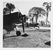 "Vought F4U-1A ""Corsair"" fighters"