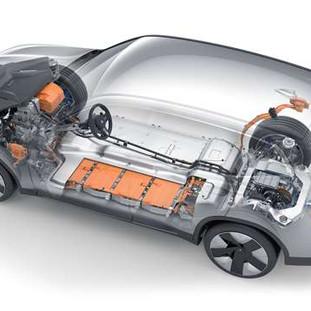 Ciclo di materiali sostenibili per le batterie.