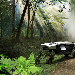 Hyundai Motor Group presenta TIGER, concept di UMV senza equipaggio