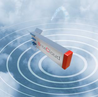 Lancio del sistema di protezione BriteCloud 218 di Leonardo da un drone GA-ASI MQ-9.