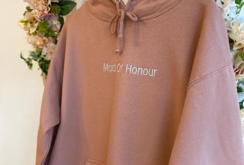 Maid of honour hoodie