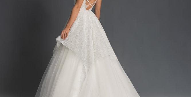 BLUSH BY HAYLEY NAHLA,  WEDDING DRESS PRINCESS, BALLGOWN SIZE 16