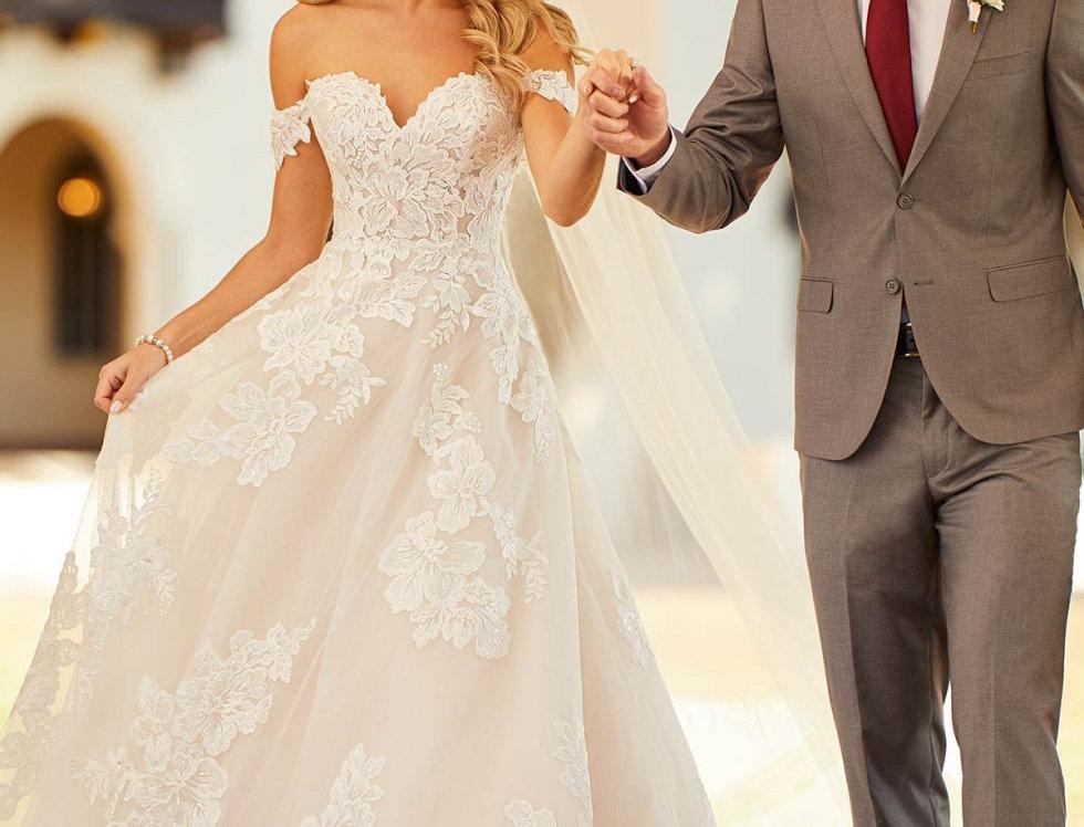STELLA YORK 7115 PRINCESS BALLGOWN WEDDING DRESS