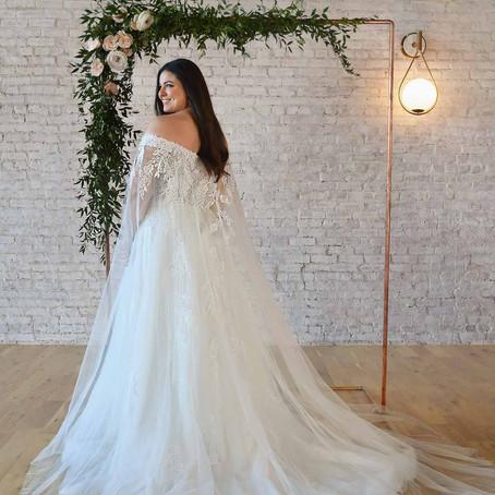 Wedding Belles Love Best Boho Wedding Dresses for Plus-Size Brides