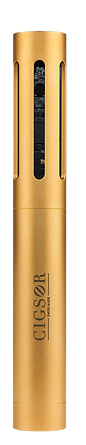 Golden Luxury Cigsor plated with 18 carat gold