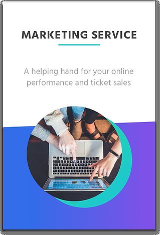 Event marketing service link