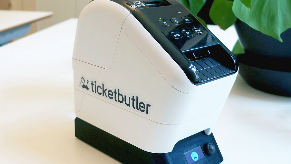 Name badge printer