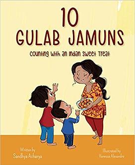 10 Gulab Jamuns