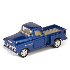 Kinsmart 1955 Chevy Step side Pick-Up Die Cast Collectible Toy Truck