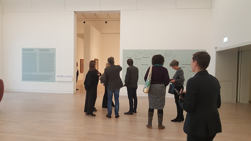 "Tour of ""museum global. Microhistories of an Ex-centric Modernism"" at K20 Kunstammlung NRW, Dusseldorf."