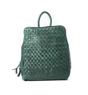 Australian Leather Lima Olive Green Backpack