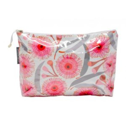 Large Cosmetic bag - gum blossoms