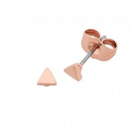Liberte Petite Tri Rose Gold earrings