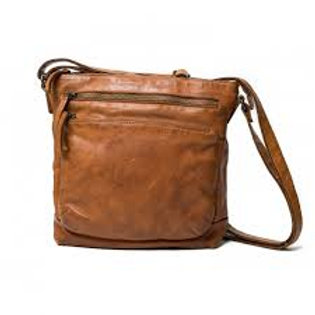 Rugged Hide  Alabama Leather bag (cognac)