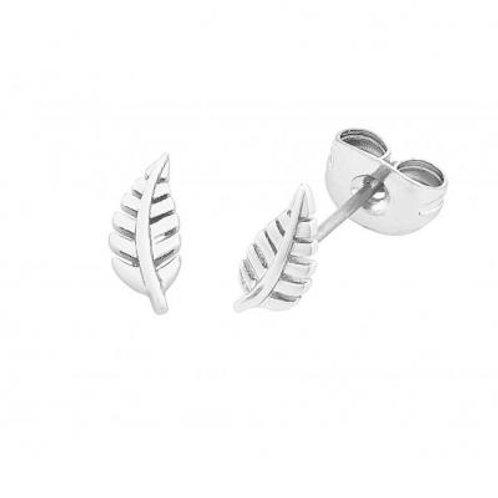 Liberte Petite Flora Silver Earrings