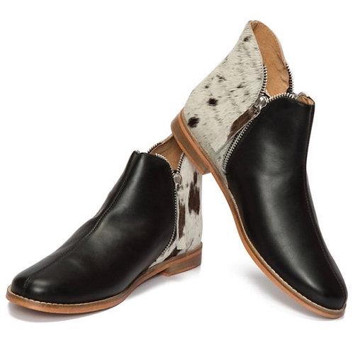 Chelsea flat boot - Black