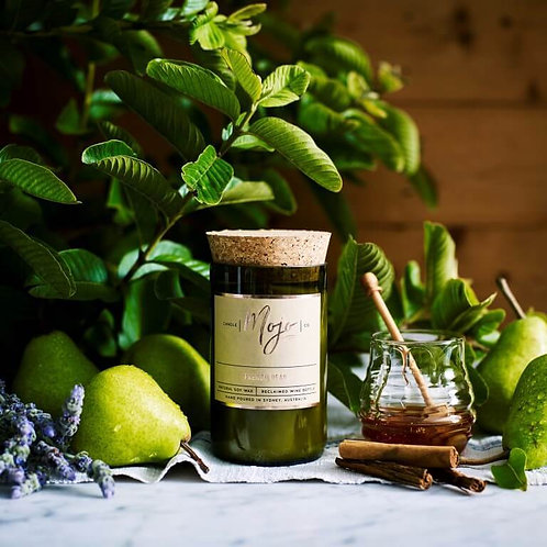 Mojo French Pear natural soy candle