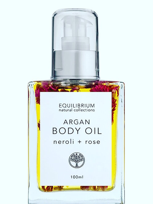 Argon Body Oil - Neroli + Rose