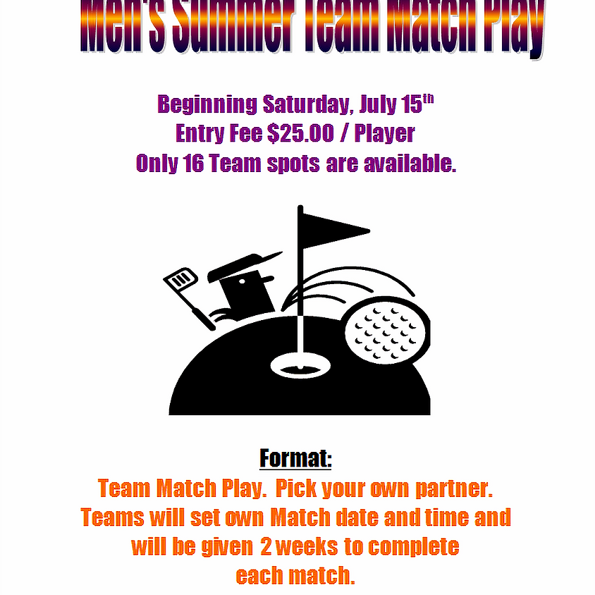 Men's Summer Team Match Play